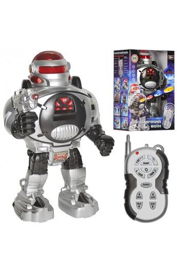 Робот M 0465 U/R стріляє дисками, радіокер., світло, бат., кор., 32 см