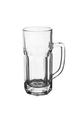 Набір чашок скляних 6шт/наборі, 400мл, ZB131