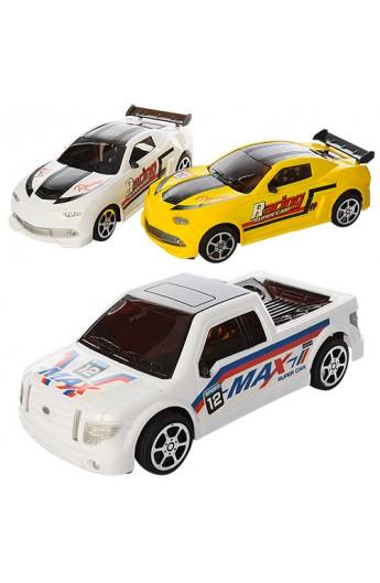 Машинка 550-3 інерц., 2 види, кул., 23-10-7,5 см.