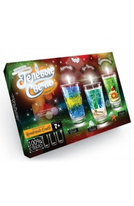 Набір креативної творчості  Гелеві свічки  своїми руками, GS-02-01, GS-02-02