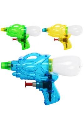 Пістолет водяний M 2864 розмір маленький, 3 кольори, кул., 13-9-3,5 см.