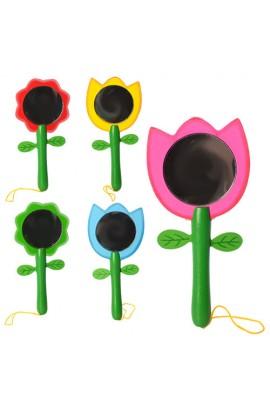 Дерев'яна іграшка Дзеркало MD 1012 2 види (мікс кольорів), кул., 13-6-1 см.