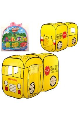 Палатка M 1424 шкільний автобус, 2 входи, 2 вікна, сумка, 39-39-5 см