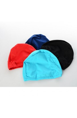 Шапочка для плавання MS 1019 тканина, 4 кольори, кул., 9-17-1 см.