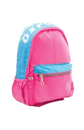 Рюкзак підлітковий Х258  Oxford , рожевий, 31.5*15*48.5см