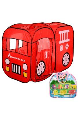 Палатка M 1401 пожежна машина, 2 входи, 3 вікна, сумка, 39-38-5 см.