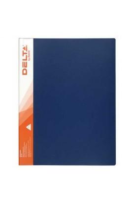 Папка з затиском А4, синя