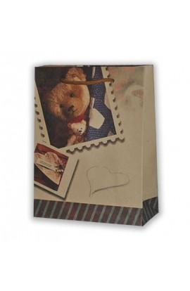 Пакет 45*31*19  Дитячі спогади  /Крафт