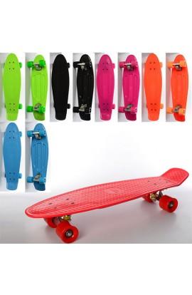 Скейт MS 0851 пені, алюм. підвіска, підш. ABEC-7, макс. навантаж. 60 кг, розбірний, 2 кольори, 66-18