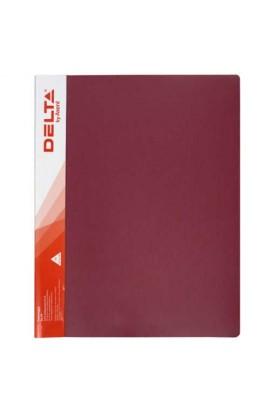 Папка-швидкозшивач А4, червона