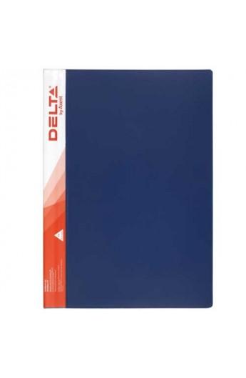 Папка с 10 файламі А4, синя