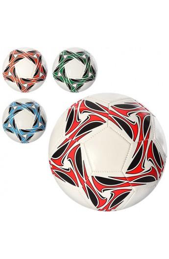 М'яч футбольний EN 3233 розмір 5, ПВХ, 4 кольори.