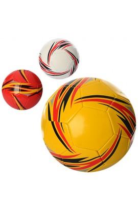 М'яч футбольний EN 3235 розмір 5, ПВХ, 3 кольори.