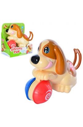 Собака 12277 заводна, кор., 18-10-19,5 см.