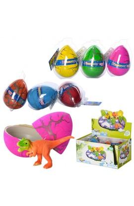 Яйце 9015B динозавр, 6 шт. в диспл., 24-12-16 см.