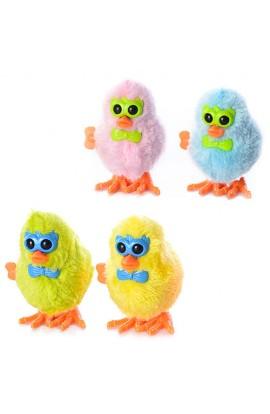 Заводна іграшка 16831A курча, 4 кольори, кул., 8-7-5 см.