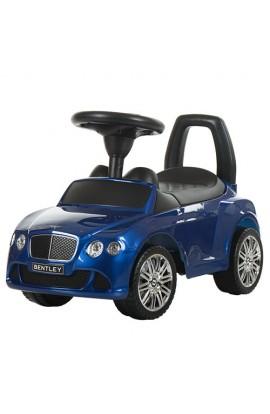 Каталка-толокар Z326S-4 муз, сидіння-багажник, муз., бат., синій, кор, 66,5-26-29,5 см.
