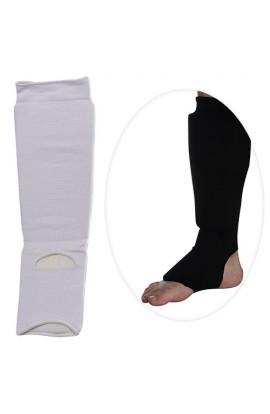 Захист MS 0674 L для боротьби, еластичний, для ніг, гомілка+стопа, розмір L, 2 кольори, кул., 15-30-