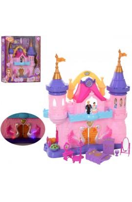 Замок SG-29002 принцес, фігурки, меблі, муз., світло, бат., кор., 50-43,5-15 см.