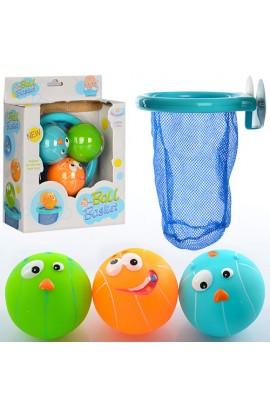 Гра CS006 для купання, корзина, присоски, м'яч, кор., 17-22-7,5 см.