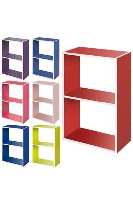 Шафка BS-1 мікс кольорів (лайм, рожевий, синій, червоний).