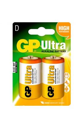 Батарейка GP 13AU-U2 лужна LR20, D