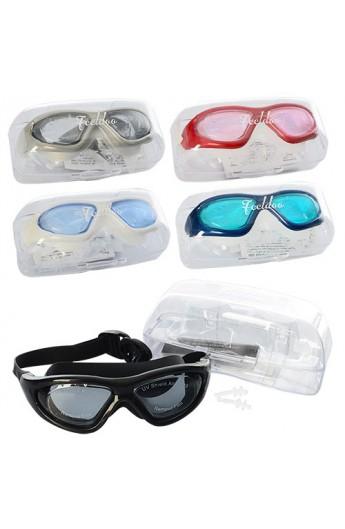 Окуляри для плавання MSW 008 5 кольорів, футляр, 18-7,5-7 см.