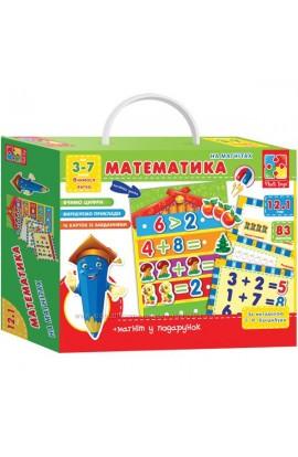 Математика з магнітною дошкою VT1502-05 (укр) .