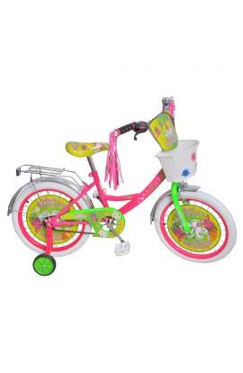 """Велосипед дитячий мульт 12"""" P 1251F-W метелик, білі колеса, білий"""