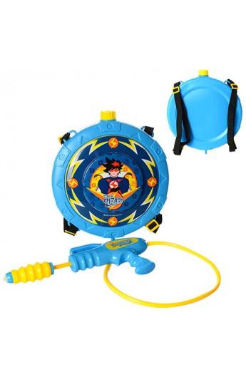 Автомат водяний M 3095 помпа, з балоном на плечі, розмір маленький, кул.,34-40-8 см.
