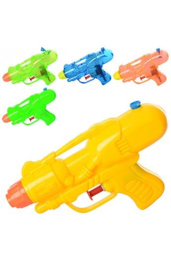 Пістолет водяний M 3076 розмір маленький, 2 види, мікс кольорів, кул.,11.5-18-3cм