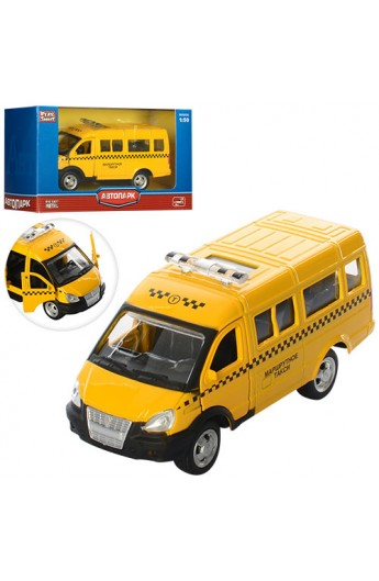 Газель 6404 C мет., інерц., маршрутне таксі, відчин. двері, гумові колеса, кор.