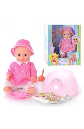 Лялька TG T0908 R/830678-3 Валюша, аксесуари, бат., кор., 40 см