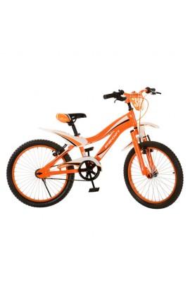 """Велосипед PROFI дитячий 20"""" SX20-19-3 помаранчевий, дзвінок, підніжка,  кор., 82-52-17 см"""
