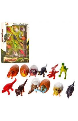 Динозаври KL01A 12 шт., від 6 см., кор., 22,5-30-3,5 см.