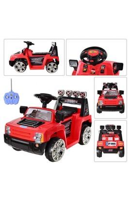 Машина ZPV 005 R-3 радіокер., мотор 23W, акум. 6V, 4,5A, 3-7 років, червона