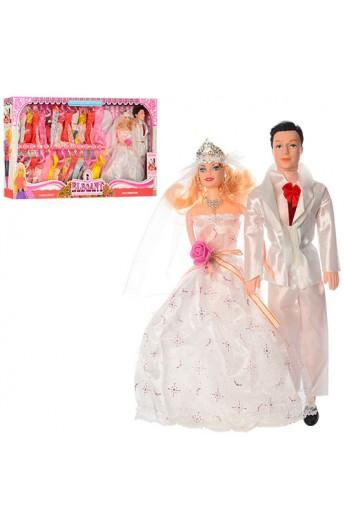 Сім'я 055A наречений і наречена, сукні 26 шт., кор., 68-33,5-6 см.