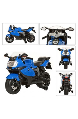 Мотоцикл Z 283-4 мотор, акум., 30 кг., синьо чорний, кор., 104,5-32,5-63,5 см