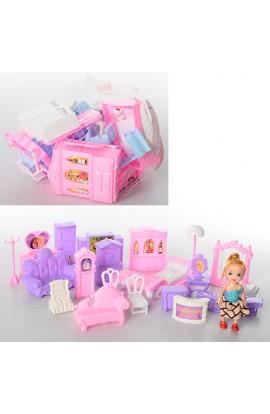 Меблі 955-988, лялька, 2 види, сітка, 17-18-11 см