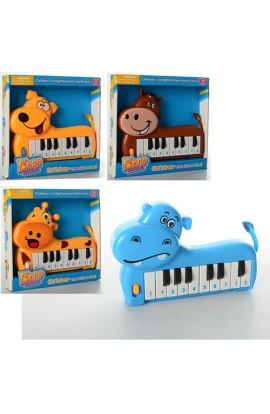 Піаніно 889-2-4-5-6 4 види, муз., бат., кор., 20-19-3,5 см