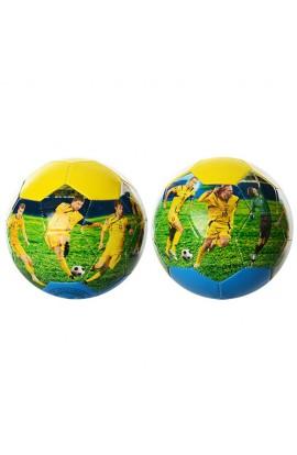 М'яч футбольний Збірна EV 3152 розмір 5, ПВХ, 2 шари, 32 панелі, збірна Україна, 300-320 г