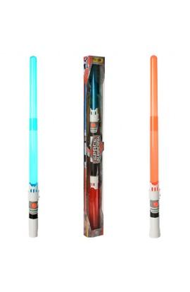Меч 3021A-1 складаний, муз., світло, бат., кор., 90-9-5 см.