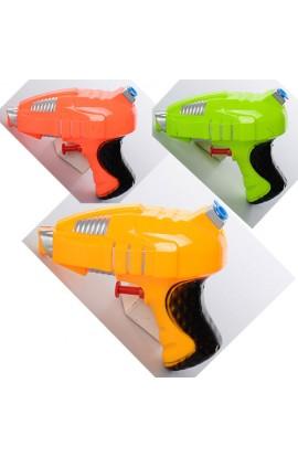 Пістолет водяний дитячий M 2567 розмір маленький, 12 см., 3 кольори, кул., 12-9-5,5 см