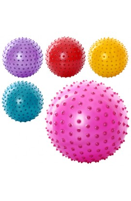 М'яч масажний MS 0023 8   ПВХ, 90 г, 5 кольорів