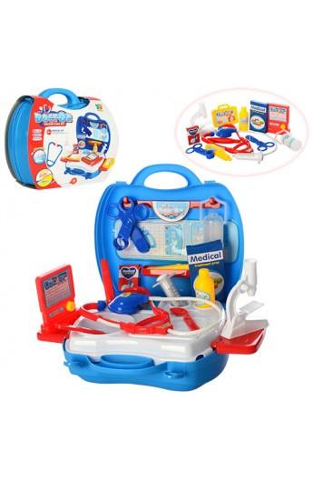 Лікар 118-56A 20предметів, валіза, 24-22-9 см.