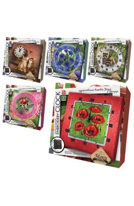 Комплект для творчості  Embroidery clock  , EС-01-01, 02, 03, 04, 05