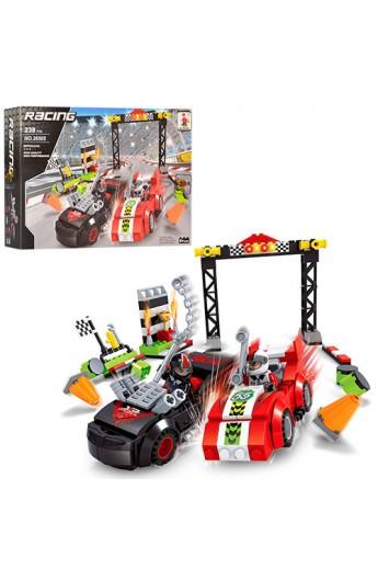 Конструктор AUSINI 26505 гонка, машинка 2 шт., фігурки, 238 дет., кор., 32-21,5-5 см.