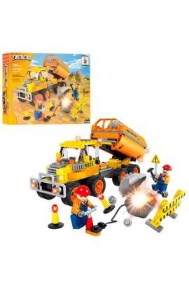 Конструктор AUSINI 29504 будівництво, машина, фігурки, 259 дет., кор., 35-25-5,5 см.