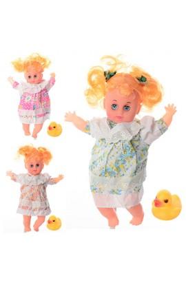Лялька 8535 м'якотіла, тварина, 3 види, муз., бат., кул., 15-32-6 см