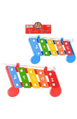 Ксилофон 5200-26 2 кольори, кул., 15-27-3 см